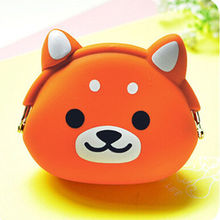 Silicone Cartoon Coin Bag Purse Gift Candy Color For Girls Kids