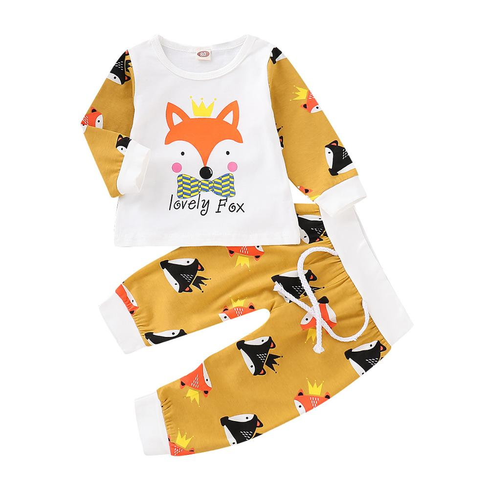 Fox pattern baby girl   romper   Baby Clothes Spring newborn clothes Long Sleeve baby boy   romper   Infant Baby Girl Clothes with hat