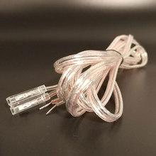 FIHI-19 кристальная головка DJ интерфейс Акустический кабель чистая медь шнур ТВ сабвуфер кабель