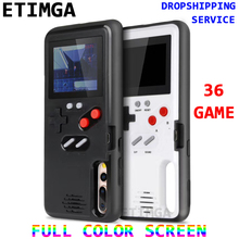 Full color display GameBoy phone case for HUAWEI P20 Pro Case Retro Tetris Game back cover Huawei NOVA 3 Coques 36