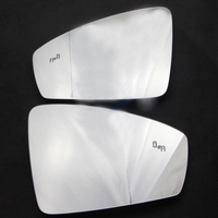 For Tiguan L Rear View Mirror Glass with Lane Change Auxiliary Lights