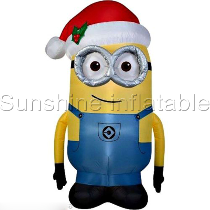 Aliexpress.com : Buy Giant airblown christmas inflatable minion one ...