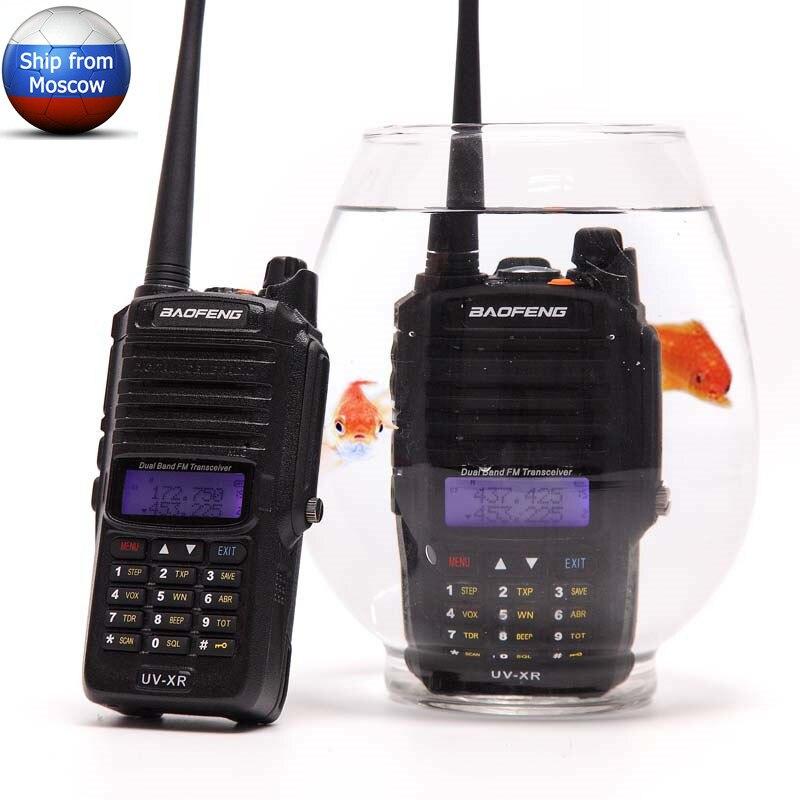 Baofeng UV XR 10W 4800Mah Battery IP67 Waterproof CB portable Two Way Radio set Handheld 10KM