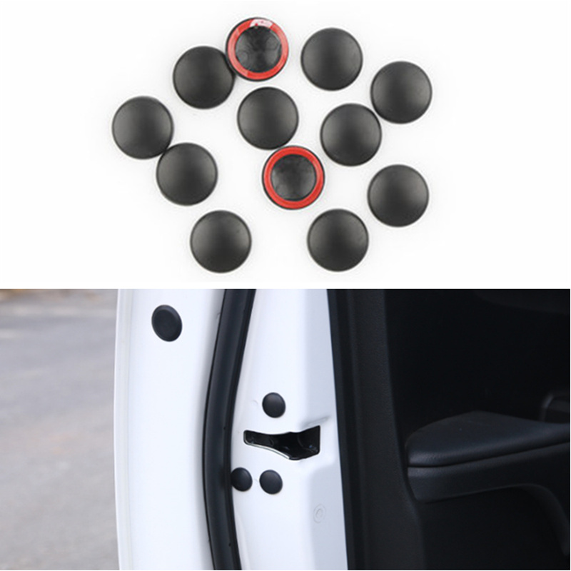Car Door Lock Screw Protector Cover For Hyundai Tucson Elantra Creta IX25 IX35 Sonata Solaris Santa Fe I30 Accent Creta Azera