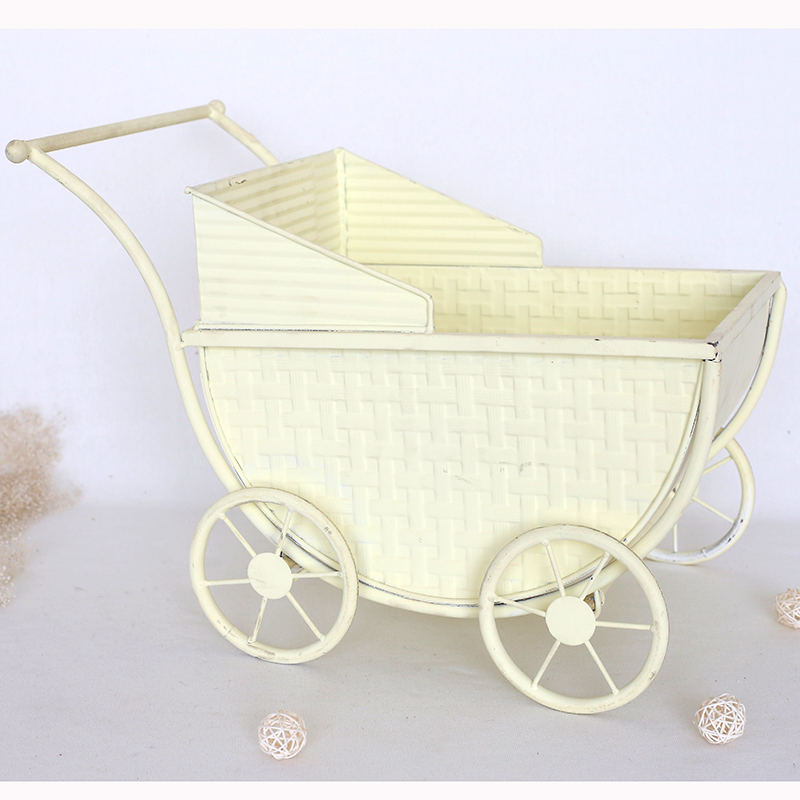 Vintage Baby Wagon Pull Cart Photography props Rustic Newborn Photo Cart backdrop Carriage Newborn background