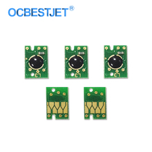 5 шт. отработанных чип для Epson Stylus Pro 4800 4880 7600 7700 7800 7880 7890 7900 9600 9700 9800 9880 9890 9900 11880
