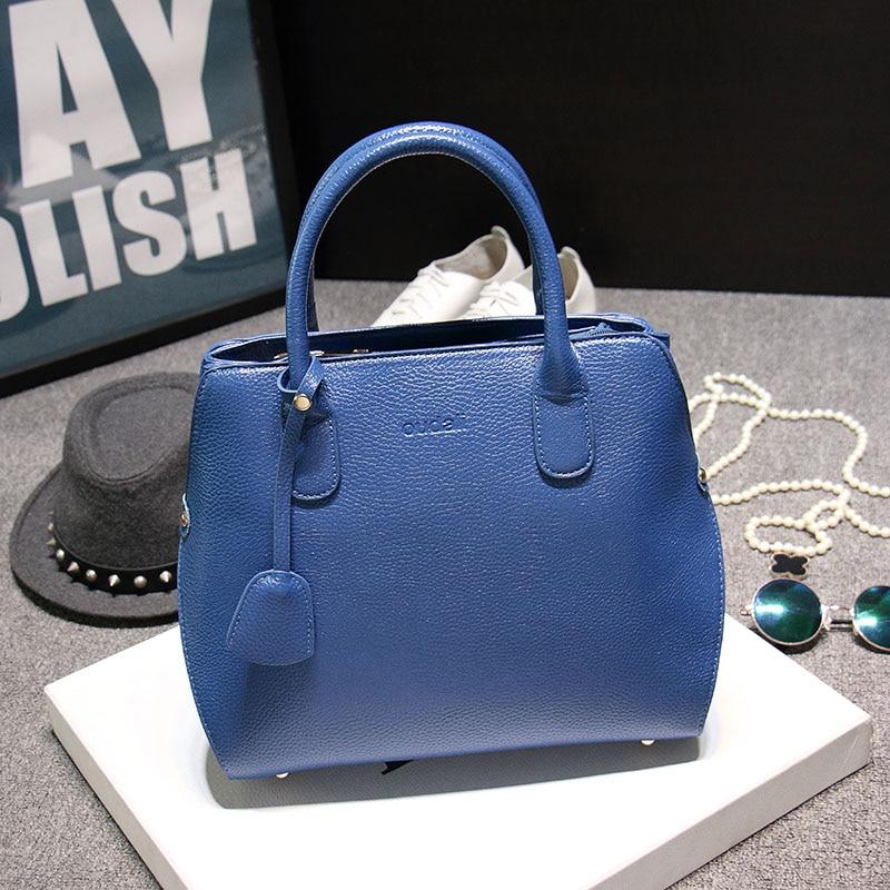 Cinco colores  de alta calidad de la manera mujeres bolsa de mensajero de las mu