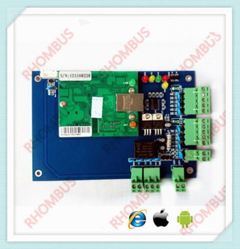 TCP/IP 1 Door Browser Server B/S iOS Android Apple Mobile App Access Control image
