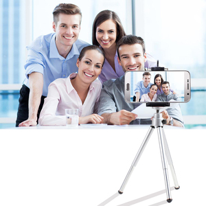 Image 3 - GAQOU Portable Mini Tripod For iPhone With Mobile Phone Holder Stand Flexible Tripods For Gopro Action Camera Bracket
