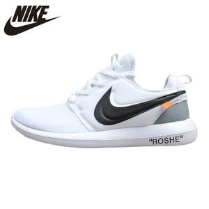 Nike Roshe Two Men s Running Shoes White Sports Outdoor Sneakers Breathable  Non e3ea34ca59