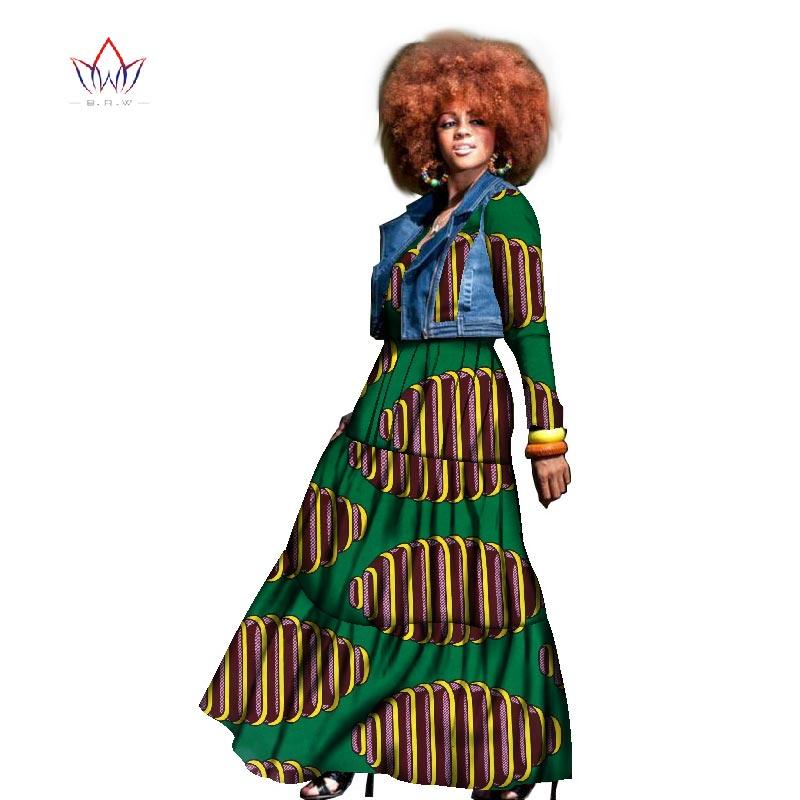 2017 Höstafrikansk klänning för kvinnor två stycken frack och - Nationella kläder - Foto 1
