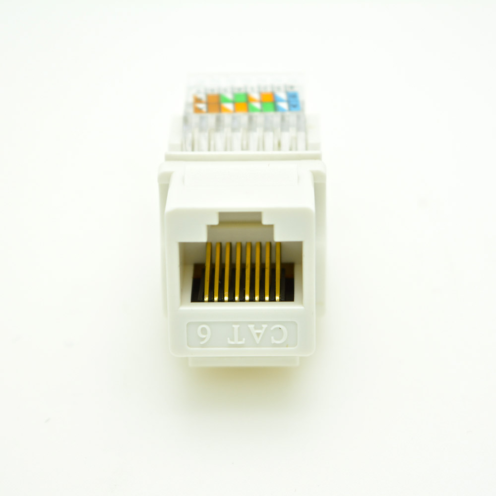 5 teile/los UTP cat6 Modul RJ45 computer anschluss werkzeuglose ...