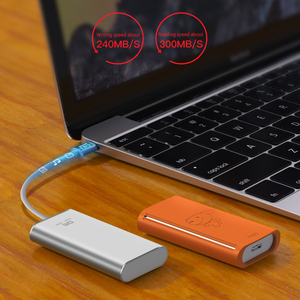 Image 3 - DM FS300 External Solid State Drives 512GB Portable SSD External hard drive hdd for laptop with Type C USB 3.1