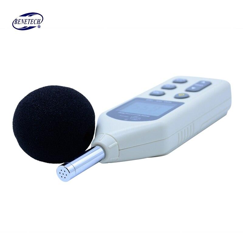 BENETECH GM1356 sonomètre numérique testeur de bruit USB compteur 30-130dB A/C rapide/lent dB + logiciel - 4