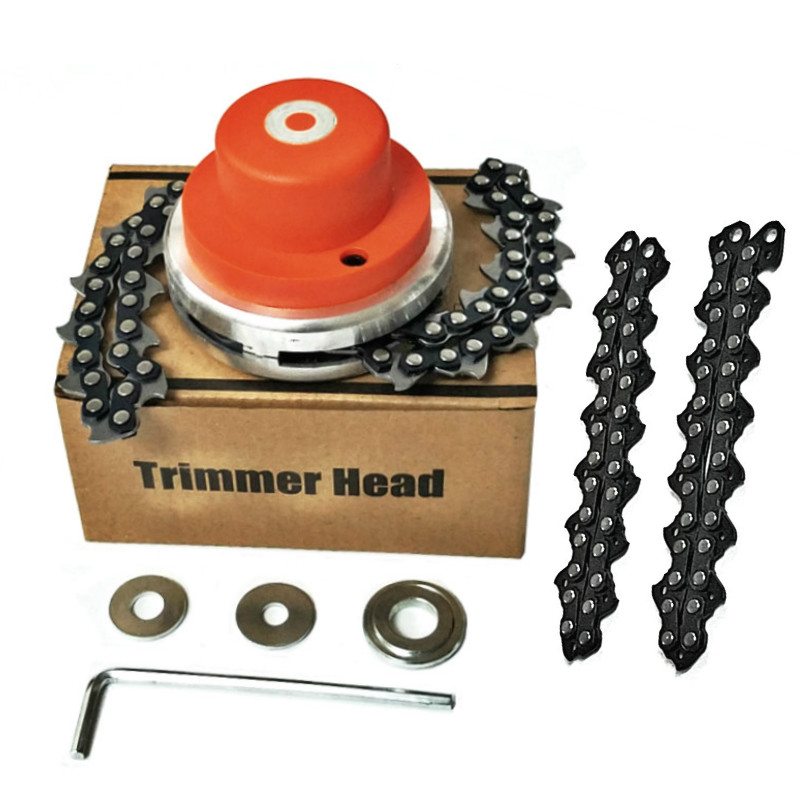 NEW Universal Trimmer Head Coil 65Mn Chain Brushcutter With Thickening chain Garden Grass Parts Trimmer For Lawn Mower(China)