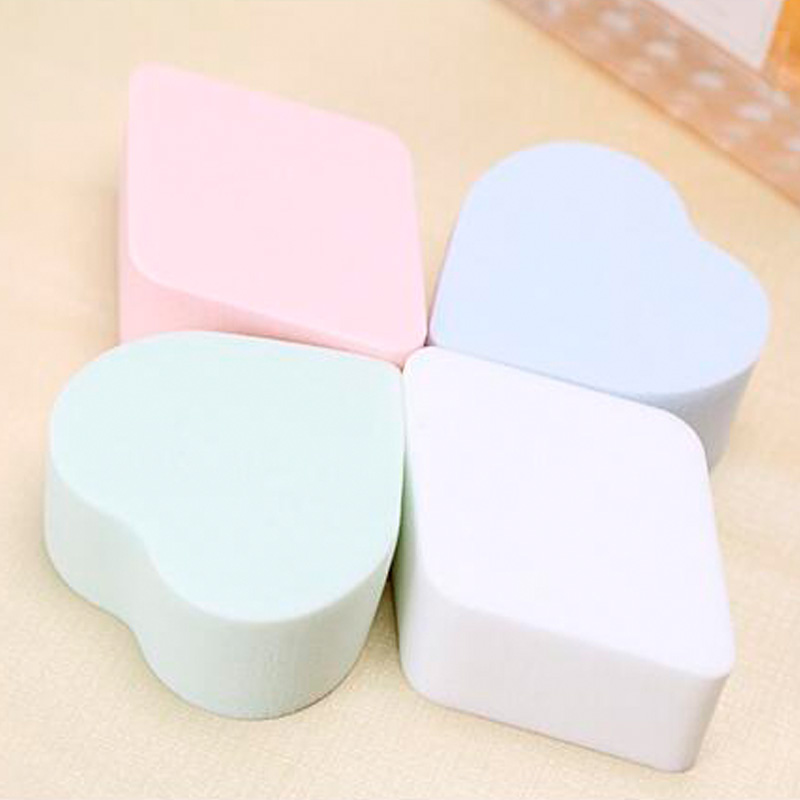 4pcs/set,10set/lot Hot Sale Soft Magic Face Cleaning Pad Puff Cosmetic Puff Cleansing Sponge Wash Face Makeup Sponge