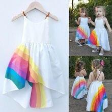 цена на Flower Girl Princess Strap Dress Kids Baby Party Wedding Bridesmaid Tulle Tutu Dresses Toddler Girls Clothes Outfits Sundress