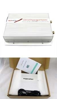 1 pièces 5000 mètres carrés appropriés 3W (35dBm) puissance de sortie GSM téléphone portable Booster Signal répéteur GSM 900Mhz amplificateur - 4