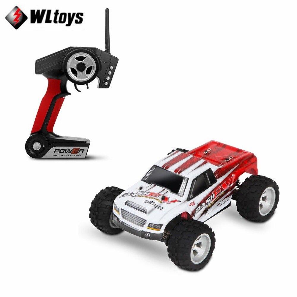 WLtoys A979-B RC voitures jouet 2.4 GHz 1/18 échelle complète proportionnelle 4WD 70 KM/h haute vitesse électrique RTR tout-terrain rc voiture moteur brossé