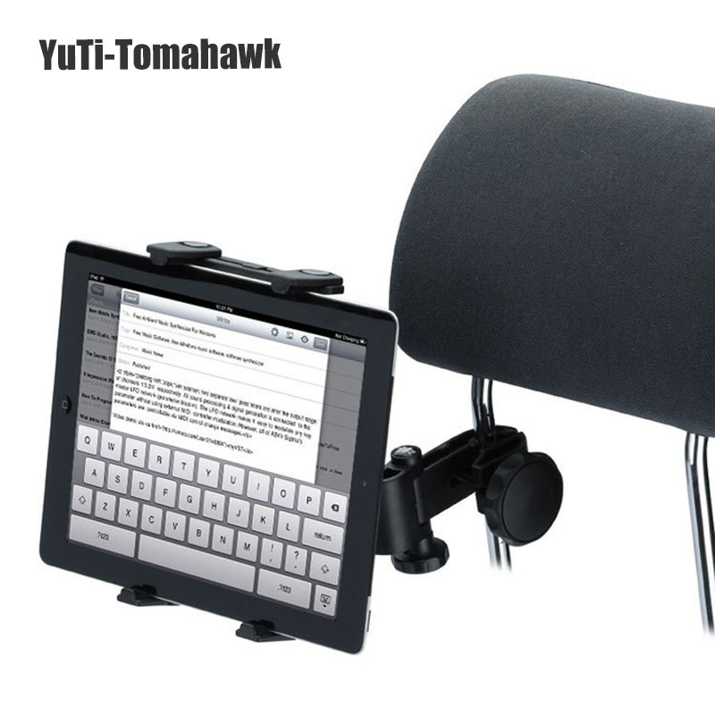 US $10 73 |Universal Car Auto Headrest Tablet Holder 360 Degree For Phone  iPad Epad Touch Pad 5 10 inches-in Tablet Stands from Computer & Office on