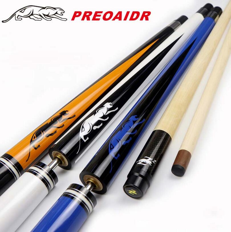 NEW PREOAIDR 3142 Brand Break Punch Jump Cue Pool Billiard Stick Kit Durable 13 MM Tip 147.5 CM And 139 CM Options China 2019