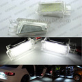2 PCS LED Porta Cortesia Bagagem Pés Luz para Audi A3 A4 A6 A8 TT Q7 Q5, led interior de luz para VW Golf 5/Golf 6