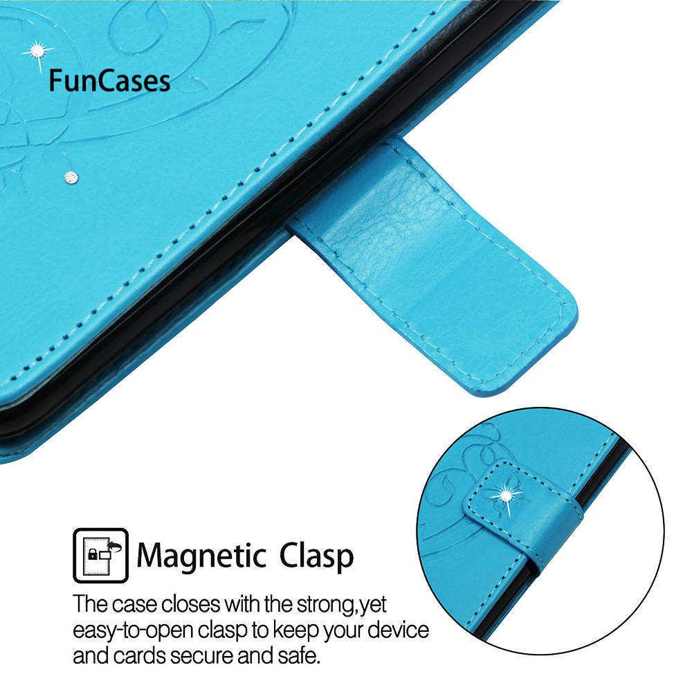 """Para HUAWEI FIG-LX1 P Smart 5,6 """"funda de teléfono con estampado de diamantes de imitación para HUAWEI PSmart 64 GB 32 GB los casos vivienda completa"""