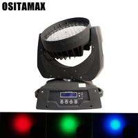 Rgbw led mini wash moving head light zoom beam 108pcs*3w light wash light for wedding Club DJ Stage Lighting Party Disco event