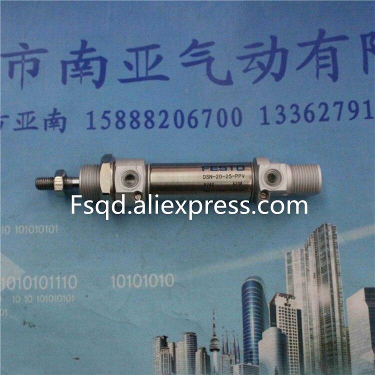 DSN-20-25-PPV DSN-20-40-PPV FESTO  stainless steel mini cylinder dsn 20 25 ppv festo stainless steel mini cylinder