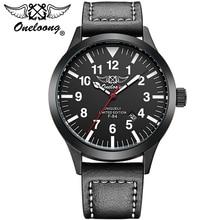 2017 Nova Marca de Moda Homens Esportes Relógios men Quartz Hour Data Homem Relógio com Pulseira de Couro Militar Do Exército de Pulso À Prova D' Água relógio