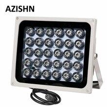 AZISHN led CCTV de metal para exteriores, 30 iluminador infrarrojo IR de visión nocturna, 850nm, IP65, luz de relleno CCTV para cámara de vigilancia CCTV