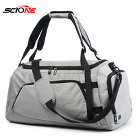 Fitness Training Bag Nylon Gym Bag 2019 Men Shoes Travel Sport Bag Backpack Multifunction Tote Gym Bags For Shoes Stora XA33G