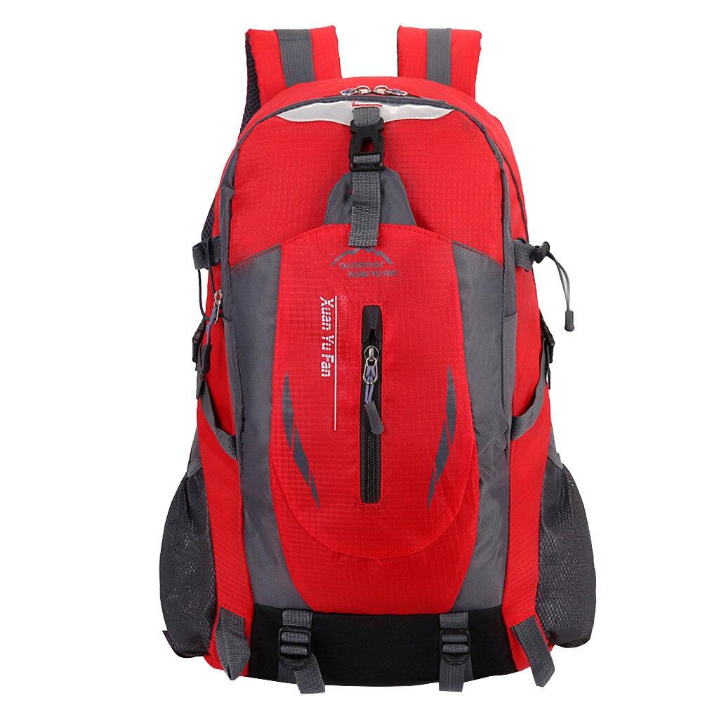 Outdoor Sport Bag For Women Men Fitness Hiking Camping Travel Backpack Bag Waterproof Resist Wear Gym Bag Running Bag