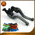 For SUZUKI GW 250 INAZUMA GW250 2011 2012 2013 WITH LOGO  free shipping  Motorcycle Adjustable Long Short Brake Clutch Levers