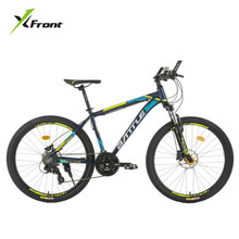New Brand Aluminum Alloy Frame 26*17 Mountain Bike Oil Disc Brake 27 Speed Lockable Suspension Fork Downhill Bicycle