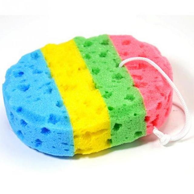 Arcobaleno Colore Del Corpo Bagno Scrubber Doccia Spa Spugna di Pulizia Del Corp
