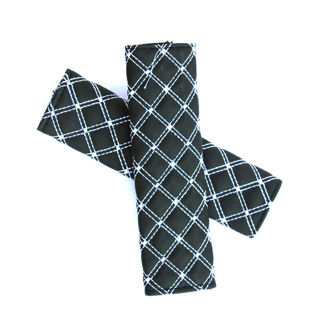 2pcs Seat Belt Safety Belt Shoulder Strap Cover Harness Pads Children Protection Car Covers Car Cushion