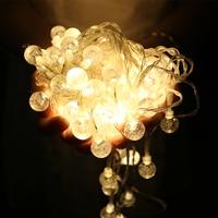10m 32 Ft 100 RGB Big LED Balll String Lamps Christmas Lights Home Garden Pendant Outdoor