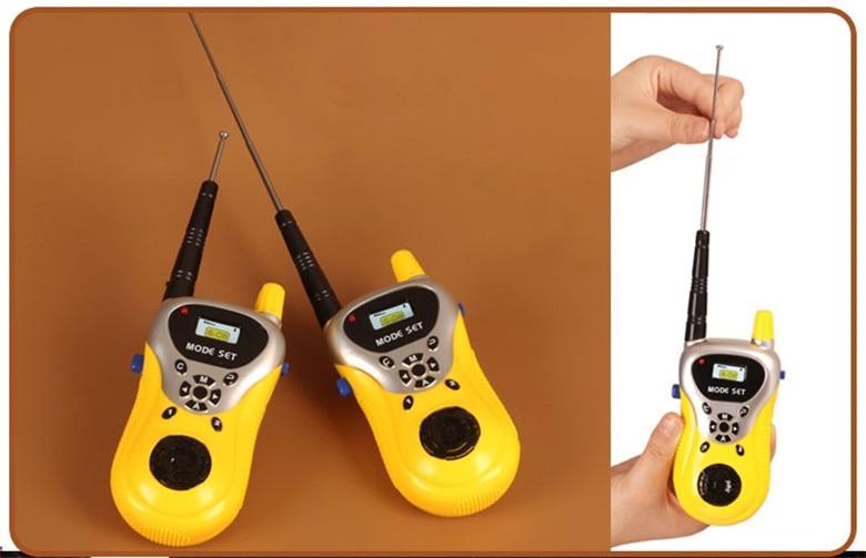 Лидер продаж 2 шт. рация Intercom электронный приемо-передающая радиоустановка общаться устройства, игрушка для детей, хороший подарок
