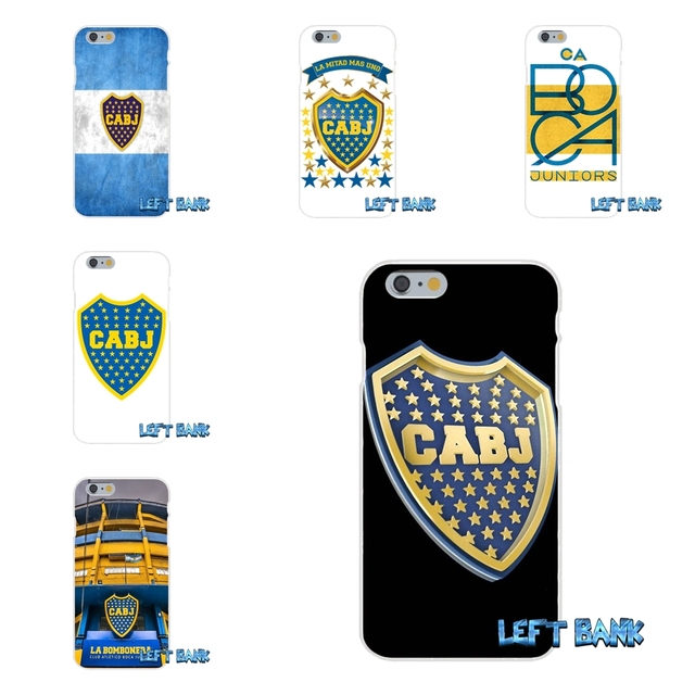 Argentina Boca Juniors Club Logo Slim Silicone Phone Case For