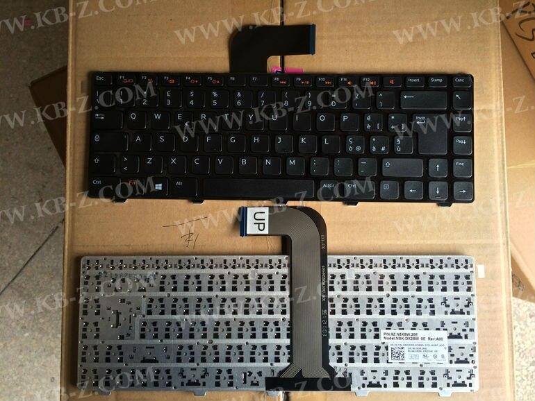 IT Italian keyboard For DELL Inspiron N4110 M4040 N4050 N5040 N5050 14VR M411R N4040 V2420 M4050 N4120 9Z.N5XSW.20E