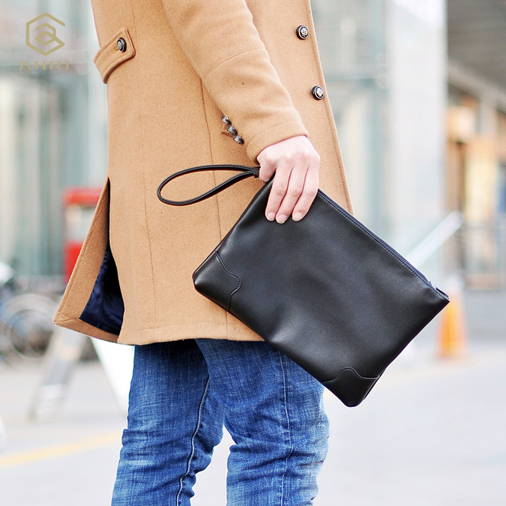 vintage envelope embreagem homens bolsa Number OF Alças/straps : Single Shoulder Bag