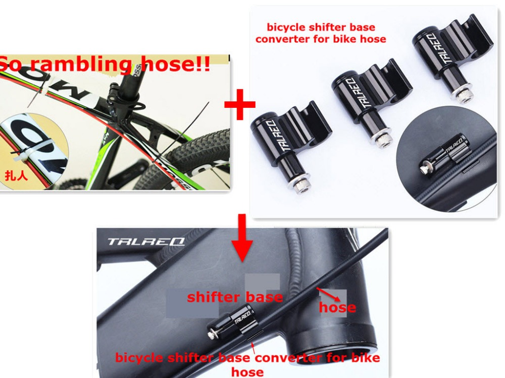 2set Bicycle Cables Housing Bike Accessories Cycle Hydraulic Hose Clamp Pipe Cable Clasp FOR AVID SRAM SHIMANO TEKTRO Hayes Hose
