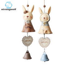 Strongwell Room Decoration Wind Chimes Zakka Groceries MISS Rabbit Dream Catcher Nordic Kids