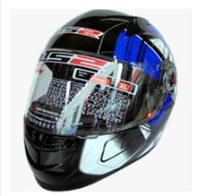 Free shipping high-grade genuine original LS2 FF358 motorcycle helmet safety helmet full helmet Racing / Blue universe