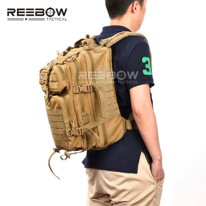 0e2b246abb10 Military Tactical Assault Pack Backpack Army Molle Waterproof Bug ...
