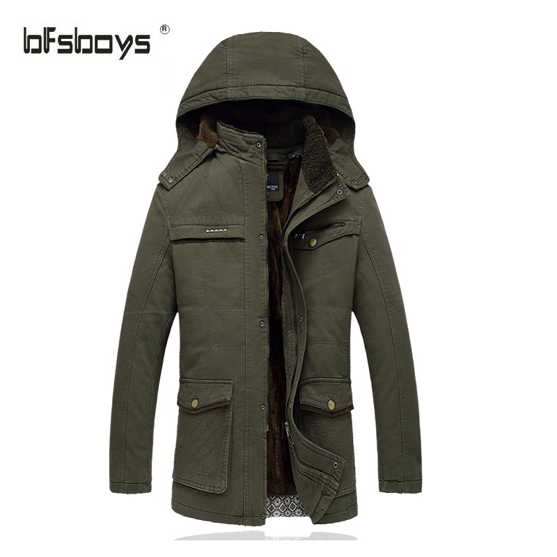 New Mens Casual Jackets And Coat 2016 Thick Warm White Duck Down Jacket Men With Fur Collar Hood  Coats  1512p195