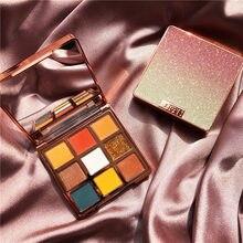 Xixi телесный перламутровый макияж Сияющие тени для век блестящие