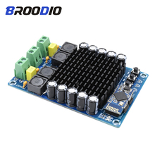 TDA7498 HD Bluetooth Amplifier Board High Power Digital Audio Amplificador Module Dual Channel 2*100W DC12-24V DIY AMP