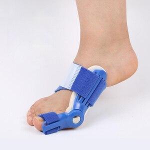 Image 3 - Dobrej jakości duży przyrząd do prostowania palców u nóg zespół cieśni kanału nadgarstka palucha koślawego korektor dzień szyna na noc ulgę w bólu nylon bluk